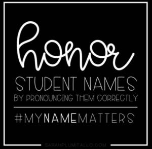 Honour Student Names